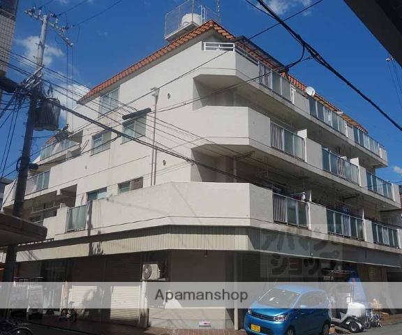 京都府京都市下京区、京都駅徒歩25分の築32年 4階建の賃貸マンション