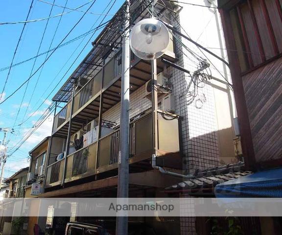 京都府京都市下京区、京都駅徒歩10分の築27年 4階建の賃貸マンション