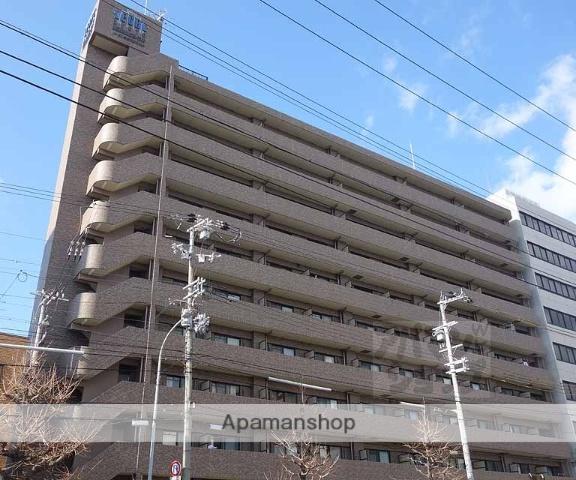 京都府京都市下京区、京都駅徒歩18分の築17年 10階建の賃貸マンション