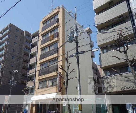 京都府京都市下京区、京都駅徒歩5分の築31年 6階建の賃貸マンション