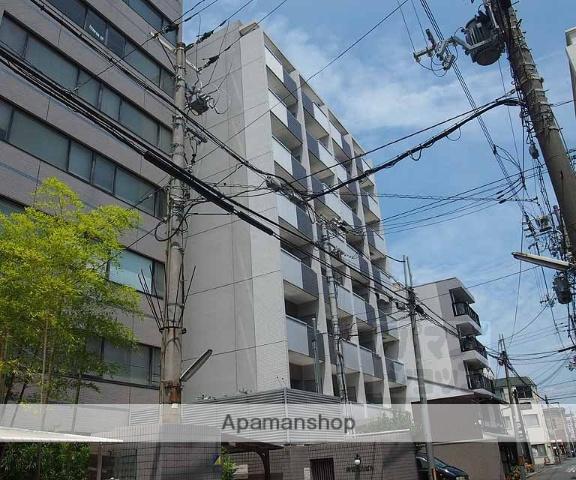 京都府京都市下京区、京都駅徒歩7分の築14年 8階建の賃貸マンション