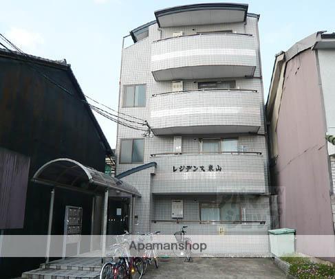 京都府京都市東山区、七条駅徒歩18分の築25年 4階建の賃貸マンション
