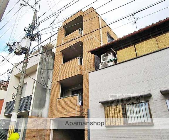 京都府京都市左京区、三条駅徒歩3分の築22年 4階建の賃貸マンション
