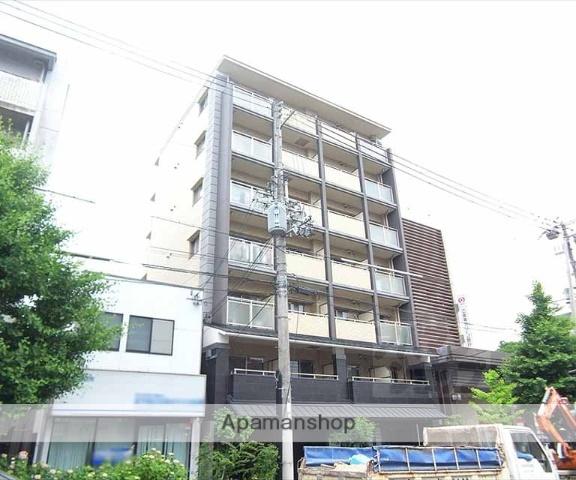 京都府京都市左京区、三条駅徒歩16分の築10年 7階建の賃貸マンション