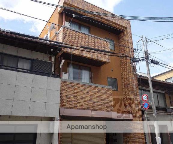 京都府京都市下京区、京都駅徒歩10分の築32年 4階建の賃貸マンション
