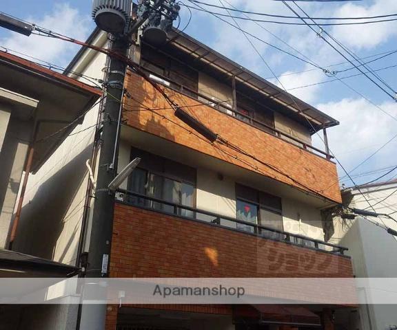 京都府京都市東山区、京都駅徒歩18分の築34年 3階建の賃貸マンション