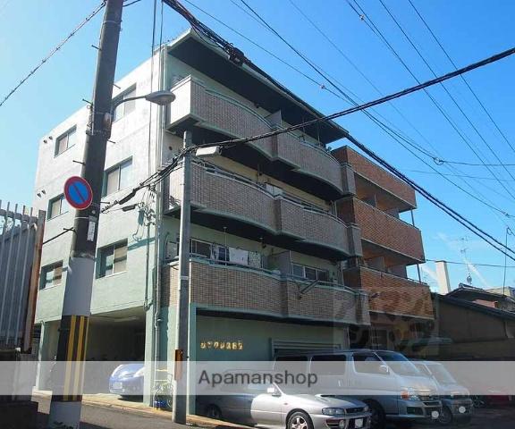 京都府京都市東山区、京都駅徒歩15分の築29年 4階建の賃貸マンション