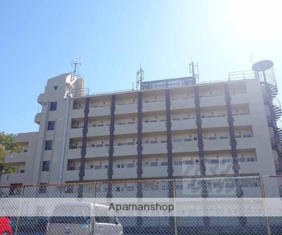 京都府京都市東山区、京都駅徒歩28分の築44年 6階建の賃貸マンション