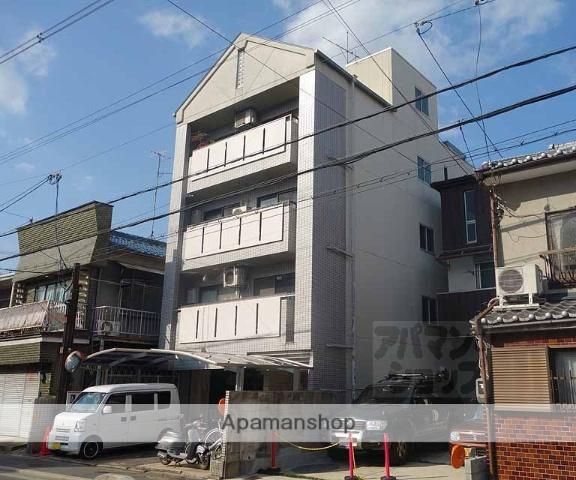 京都府京都市下京区、西大路駅徒歩8分の築28年 4階建の賃貸マンション