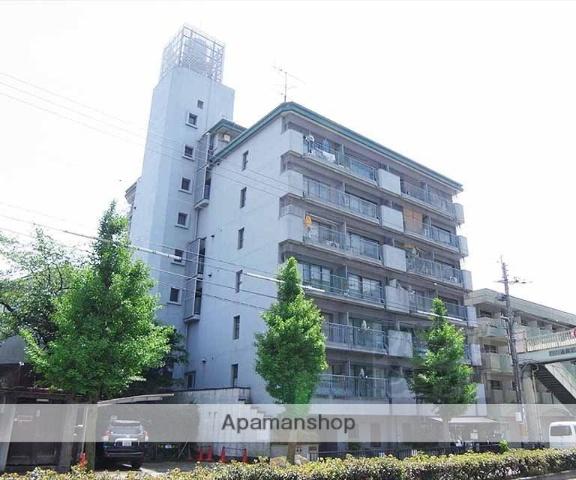 京都府京都市左京区、神宮丸太町駅徒歩14分の築42年 9階建の賃貸マンション