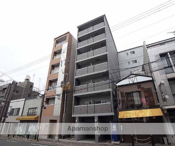 京都府京都市上京区、円町駅徒歩21分の築6年 7階建の賃貸マンション