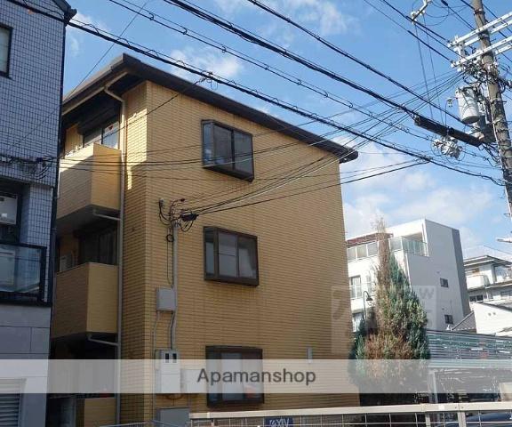 京都府京都市下京区、西大路駅徒歩10分の築23年 3階建の賃貸マンション