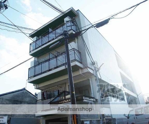 京都府京都市下京区、京都駅徒歩10分の築17年 3階建の賃貸マンション