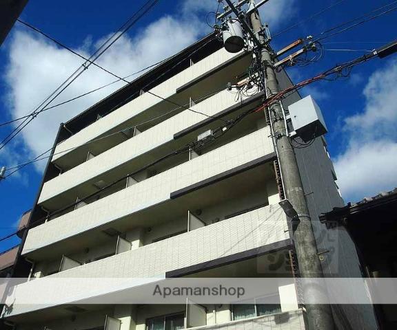 京都府京都市下京区、京都駅徒歩10分の築4年 6階建の賃貸マンション