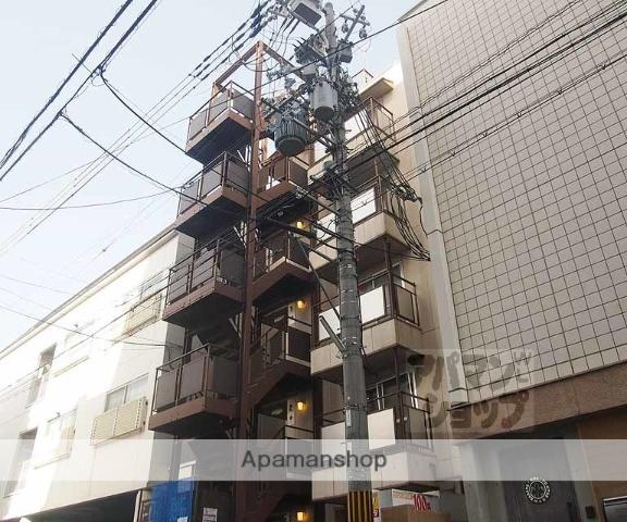 京都府京都市下京区、京都駅徒歩5分の築33年 5階建の賃貸マンション