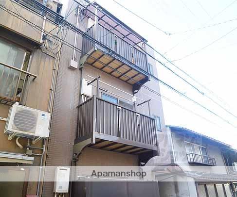京都府京都市下京区、京都駅徒歩12分の築18年 3階建の賃貸マンション