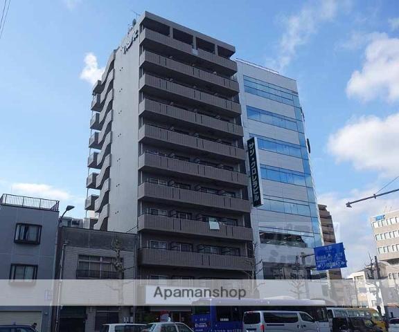 京都府京都市下京区、京都駅徒歩9分の築20年 11階建の賃貸マンション