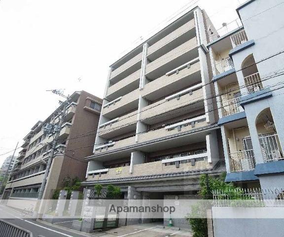 京都府京都市左京区、三条駅徒歩1分の築13年 7階建の賃貸マンション
