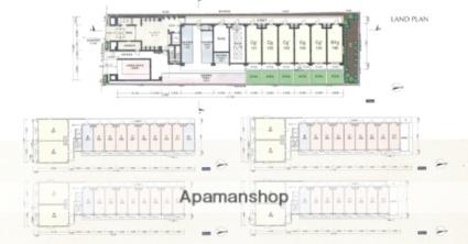 プレサンス京都神宮道[1K/21.9m2]の配置図