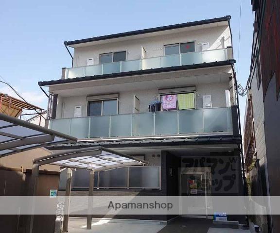 京都府京都市東山区、京都駅徒歩15分の築1年 3階建の賃貸マンション