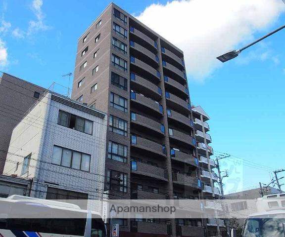 京都府京都市下京区、丹波口駅徒歩9分の築25年 11階建の賃貸マンション