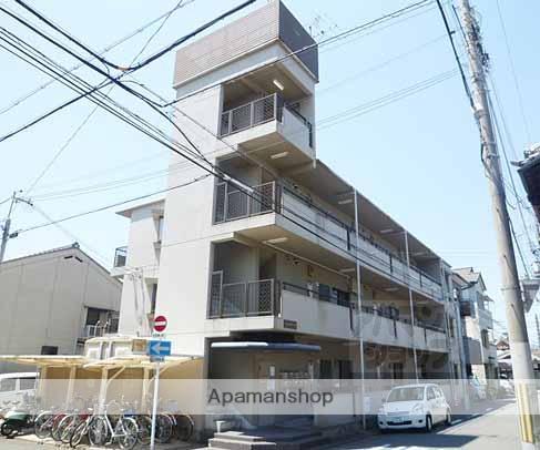 京都府京都市下京区、京都駅徒歩30分の築29年 3階建の賃貸マンション