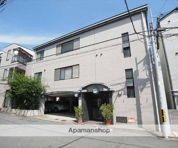 京都府京都市左京区、出町柳駅徒歩21分の築22年 3階建の賃貸マンション