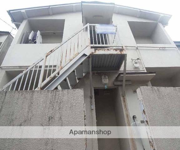 京都府京都市左京区、出町柳駅徒歩30分の築26年 2階建の賃貸アパート