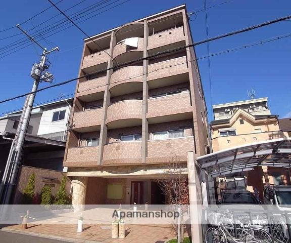 京都府京都市中京区、円町駅徒歩8分の築7年 5階建の賃貸マンション