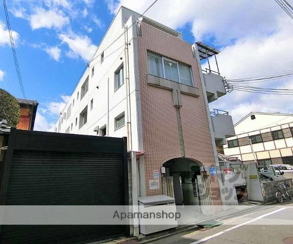 京都府京都市左京区、三条駅徒歩4分の築25年 4階建の賃貸マンション