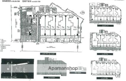 エステムプラザ東山邸[1K/25m2]の配置図
