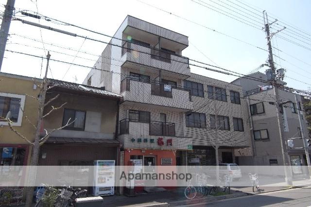 京都府京都市左京区、出町柳駅徒歩14分の築21年 4階建の賃貸マンション