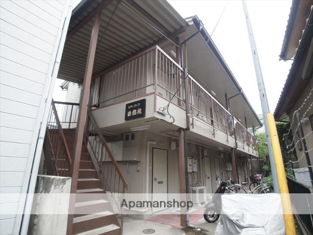 京都府京都市左京区、蹴上駅徒歩24分の築36年 2階建の賃貸アパート