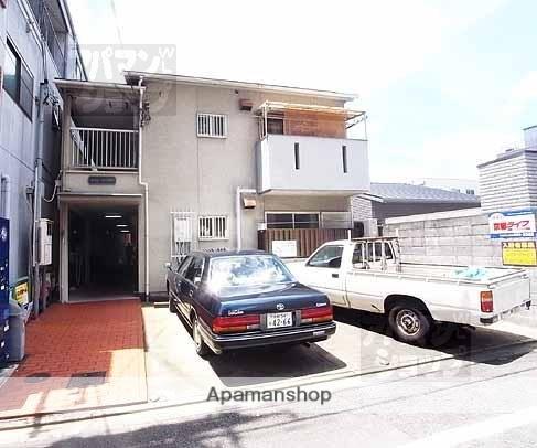 京都府京都市上京区、丸太町駅徒歩6分の築27年 2階建の賃貸アパート