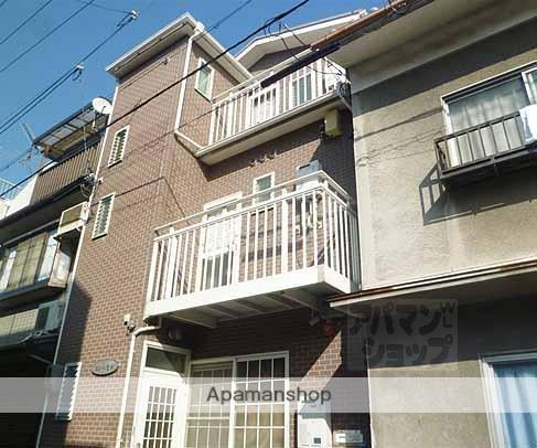 京都府京都市下京区、京都駅徒歩9分の築20年 3階建の賃貸アパート