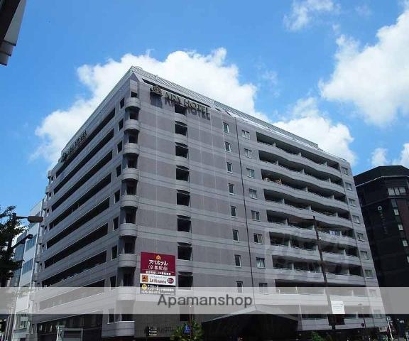 京都府京都市下京区、京都駅徒歩3分の築18年 11階建の賃貸マンション