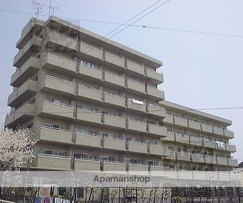 京都府京都市東山区、京都駅徒歩20分の築30年 7階建の賃貸マンション