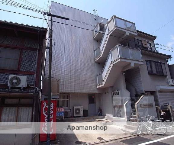 京都府京都市中京区、二条駅徒歩14分の築26年 4階建の賃貸マンション
