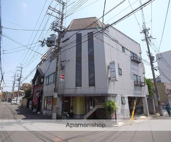 京都府京都市中京区、円町駅徒歩2分の築29年 4階建の賃貸マンション