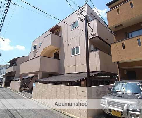 京都府京都市中京区、二条駅徒歩9分の築28年 3階建の賃貸マンション