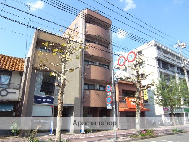京都府京都市中京区、円町駅徒歩5分の築14年 5階建の賃貸マンション
