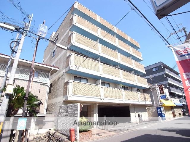 京都府京都市中京区、円町駅徒歩4分の築17年 4階建の賃貸マンション