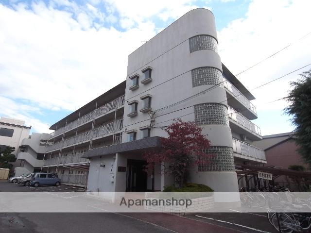 京都府京都市中京区、円町駅徒歩10分の築37年 4階建の賃貸マンション