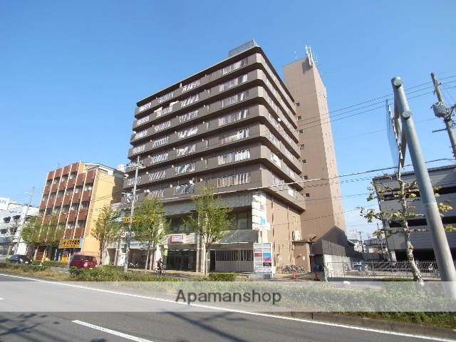 京都府京都市中京区、円町駅徒歩8分の築37年 9階建の賃貸マンション