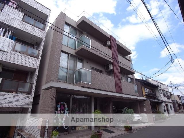 京都府京都市中京区、円町駅徒歩16分の築10年 3階建の賃貸マンション