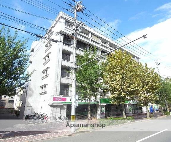 京都府京都市中京区、円町駅徒歩3分の築34年 6階建の賃貸マンション