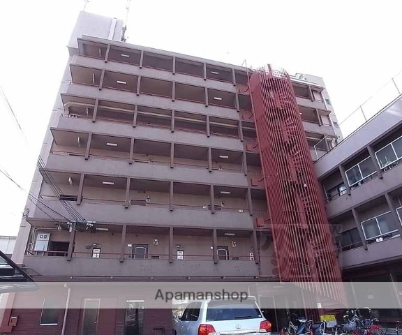 京都府京都市中京区、円町駅徒歩5分の築38年 7階建の賃貸マンション