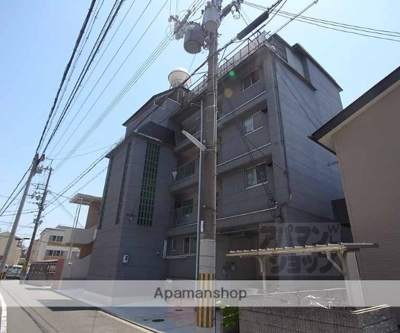 京都府京都市中京区、円町駅徒歩9分の築36年 5階建の賃貸マンション