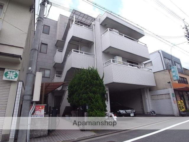 京都府京都市上京区、今出川駅徒歩10分の築27年 4階建の賃貸マンション