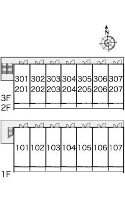 レオパレスプレミエ エトワール[1K/19.87m2]の内装2